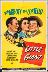 "Little Giant (Universal, 1946). One Sheet (27"" X 41""). Comedy"