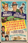"Movie Posters:Comedy, The Naughty Nineties (Universal, 1945). One Sheet (27"" X 41"").Comedy.. ..."