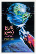 "Movie Posters:Science Fiction, Killer Klowns from Outer Space (TWE, 1988). One Sheet (27"" X 41"").Science Fiction.. ..."