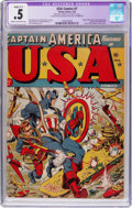 Golden Age (1938-1955):Superhero, USA Comics #7 (Timely, 1943) CGC Apparent PR 0.5 Cream to off-white pages....