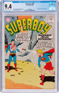 Silver Age (1956-1969):Superhero, Superboy #80 (DC, 1960) CGC NM 9.4 Off-white to white pages....