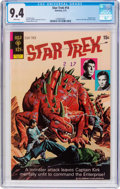 Bronze Age (1970-1979):Science Fiction, Star Trek #14 (Gold Key, 1972) CGC NM 9.4 White pages....