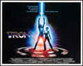 "Movie Posters:Science Fiction, Tron (Buena Vista, 1982). Half Sheet (22"" X 28""). Science Fiction....."