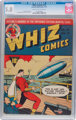 Whiz Comics #24 (Fawcett Publications, 1941) CGC VG/FN 5.0 Cream to off-white pages
