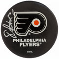 Autographs:Others, Eric Lindros Signed Hockey Puck. . ...