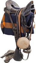 Western Expansion:Buffalo Soldiers, 1872-Pattern McClellan Saddle and Tack.... (Total: 3 Items)