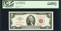 Fr. 1514 $2 1963A Legal Tender Note. PCGS Very Choice New 64PPQ