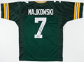 Football Collectibles:Uniforms, Don Majkowski Signed Jersey. . ...