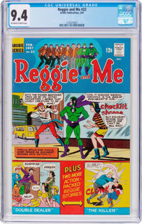 Reggie and Me #22 (Archie, 1967) CGC NM 9.4 Off-white to white pages