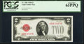 Fr. 1501 $2 1928 Legal Tender Note. PCGS Gem New 65PPQ