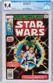 Star Wars #1 (Marvel, 1977) CGC NM 9.4 White pages