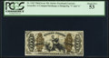 Fractional Currency:Third Issue, Fr. 1363 50¢ Third Issue Justice PCGS About New 53.. ...