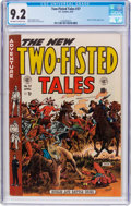 Golden Age (1938-1955):War, Two-Fisted Tales #37 (EC, 1954) CGC NM- 9.2 Off-white to whitepages....