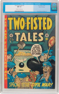 Two-Fisted Tales #31 Gaines File Pedigree 2/12 (EC, 1953) CGC NM 9.4 Off-white to white pages