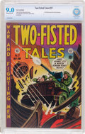 Golden Age (1938-1955):War, Two-Fisted Tales #27 (EC, 1952) CBCS VF/NM 9.0 Off-white to whitepages....