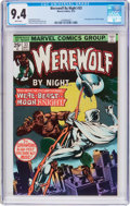 Bronze Age (1970-1979):Horror, Werewolf by Night #33 (Marvel, 1975) CGC NM 9.4 White pages....