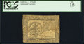 Continental Currency November 2, 1776 $5 PCGS Fine 15