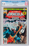 Bronze Age (1970-1979):Horror, Tomb of Dracula #50 (Marvel, 1976) CGC NM/MT 9.8 White pages....