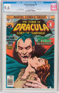 Bronze Age (1970-1979):Horror, Tomb of Dracula #48 (Marvel, 1976) CGC NM+ 9.6 Cream to off-whitepages....