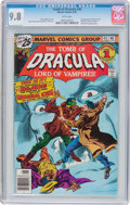 Bronze Age (1970-1979):Horror, Tomb of Dracula #45 (Marvel, 1976) CGC NM/MT 9.8 White pages....