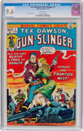 Bronze Age (1970-1979):Western, Tex Dawson, Gunslinger #1 (Marvel, 1973) CGC NM+ 9.6 White pages....