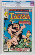 Bronze Age (1970-1979):Adventure, Tarzan #1 (Marvel, 1977) CGC NM/MT 9.8 White pages....
