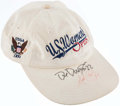Football Collectibles:Uniforms, Dave Duerson & Walter Payton Signed Golf Hat. . ...
