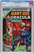 Bronze Age (1970-1979):Horror, Giant-Size Dracula #2 (Marvel, 1974) CGC NM/MT 9.8 Off-white towhite pages....