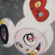 Takashi Murakami (b. 1962) DOB in Pure White Robe (Navy and Vermillion), 2013 Offset lithograph in colors on smooth wo...