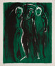John Piper (1903-1992) The Visitation / Saints, 1975 Lithograph in colors on wove paper 22-1/4 x 18-7/8 inches (56.5