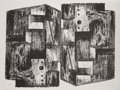 Prints & Multiples, Henry Moore (1898-1986). Square Forms, 1963. Lithograph on Rives BFK paper. 19-7/8 x 25-5/8 inches (50.5 x 65.1 cm) (she...