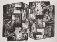 Henry Moore (1898-1986) Square Forms, 1963 Lithograph on Rives BFK paper 19-7/8 x 25-5/8 inches (
