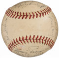 Autographs:Baseballs, 1946 Boston Red Sox Team Signed Baseball (25 Signatures).. ...