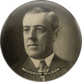 """Political:Pinback Buttons (1896-present), Woodrow Wilson: Large """"Paperweight"""" Mirror...."""