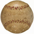 Autographs:Baseballs, Dizzy Dean, Luke Sewell and Vern Stephens Multi-Signed Baseball.....