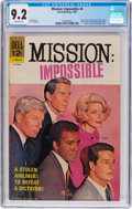 Silver Age (1956-1969):Adventure, Mission: Impossible #4 (Dell, 1968) CGC NM- 9.2 Off-white pages....