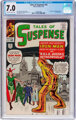 Tales of Suspense #43 (Marvel, 1963) CGC FN/VF 7.0 Off-white to white pages