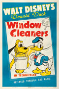 "Movie Posters:Animation, Donald Duck in Window Cleaners (RKO, 1940). One Sheet (27"" X 41"")....."