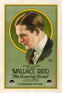 """The Roaring Road (Paramount, 1919). One Sheet (28"""" X 41.75"""")"""