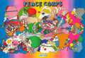 """Movie Posters:Miscellaneous, Peace Corps by Peter Max (Barnes Press, 1970). Full-Bleed Recruiting Poster (50"""" X 73.75"""").. ..."""