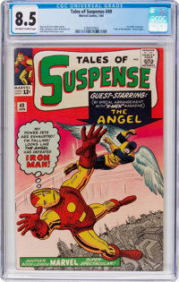 Tales of Suspense #49 (Marvel, 1964) CGC VF+ 8.5 Off-white to white pages