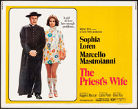 """The Priest's Wife & Other Lot (Warner Brothers, 1971). Half Sheets (2) (22"""" X 28""""). Foreign. ... (Tota..."""