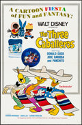 "Movie Posters:Animation, The Three Caballeros (Buena Vista, R-1977). One Sheet (27"" X 41"").Animation.. ..."