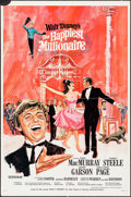 "Movie Posters:Musical, The Happiest Millionaire (Buena Vista, 1967). One Sheets (2) (27"" X41"") Styles A & B. Musical.. ... (Total: 2 Items)"