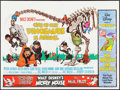 """Movie Posters:Comedy, One of Our Dinosaurs Is Missing (Walt Disney, R-1970s). BritishQuad (30"""" X 40""""). Comedy.. ..."""