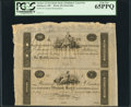 Obsoletes By State:Maryland, Baltimore, (MD)- Farmers and Merchants Bank of Baltimore $100-$50 ND Uncut Pair Remainders. ...