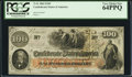 Confederate Notes:1862 Issues, T41 $100 1862 PF-7 Cr. 317.. ...