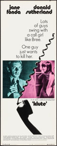 "Movie Posters:Thriller, Klute & Other Lot (Warner Brothers, 1971). Inserts (2) (14"" X36""). Thriller.. ... (Total: 2 Items)"
