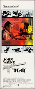 "Movie Posters:Action, McQ (Warner Brothers, 1974). Insert (14"" X 36""). Action.. ..."