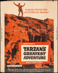 Movie Posters:Adventure, Tarzan's Greatest Adventure (Paramount, 1959). Rolled, Fin...